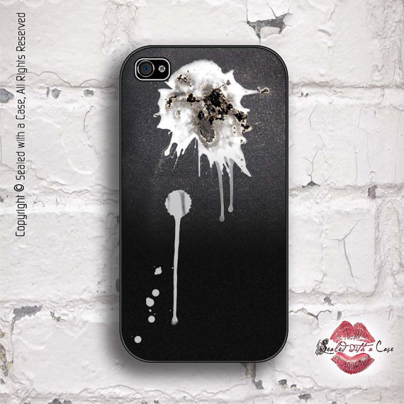 bird shit iPhone case