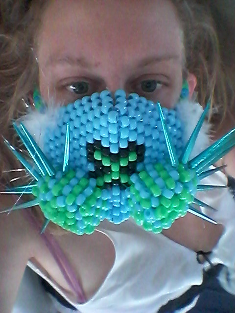 Pony Bead Mask