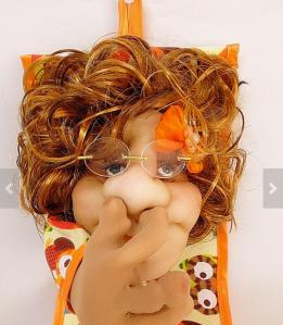 Nose Picking Doll